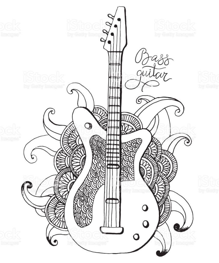 Resultado De Imagen Para Dibujo De Guitarra Dibujos De Guitarras Guitarras