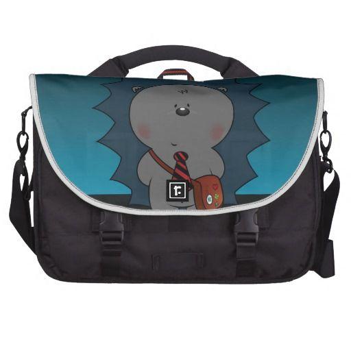 nigel the hedgehog laptop bags