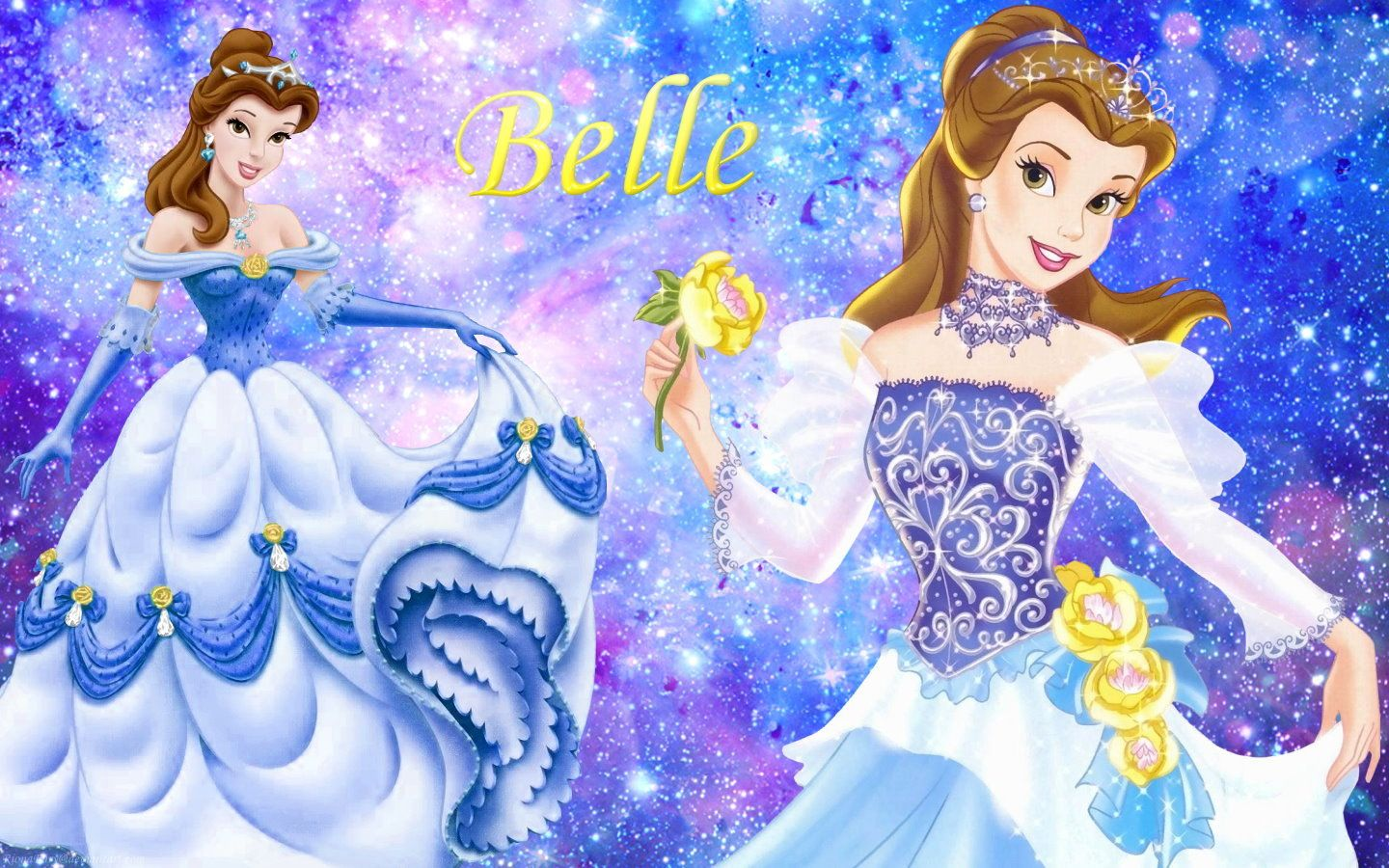 Beauty And The Beast Wallpaper Belle Disney Princess Wallpaper Disney Princess Belle Princess Wallpaper