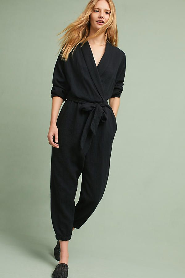 1ec35fa432f Slide View  1  Benna Wrap Jumpsuit