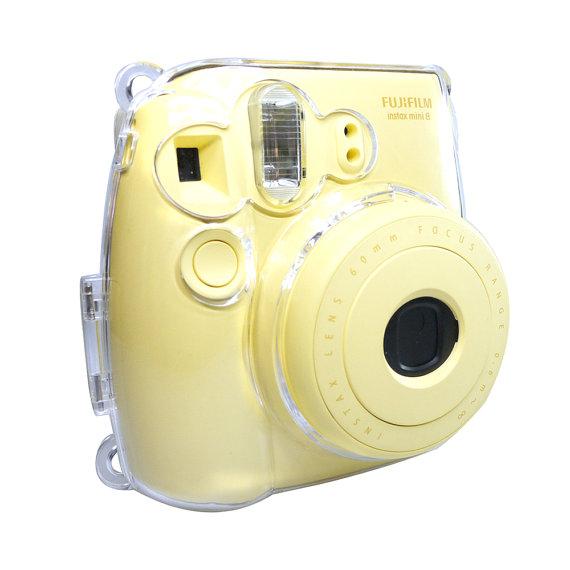 Fujifilm Instax Mini 8 9 Camera Case Crystal Clear Transparent Instax Fujifilm Instax Mini Fujifilm Instax