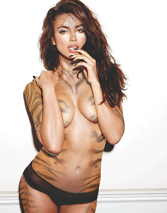 Tiger Woman by TranquilBelligerence