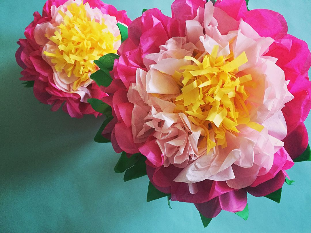 How To Make A Tissue Paper Flower A Dazzling Tutorial Robert