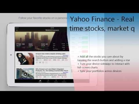 Real Time Stock Quotes Custom Yahoo Finance  Real Time Stocks Market Quotes Business And . Decorating Inspiration
