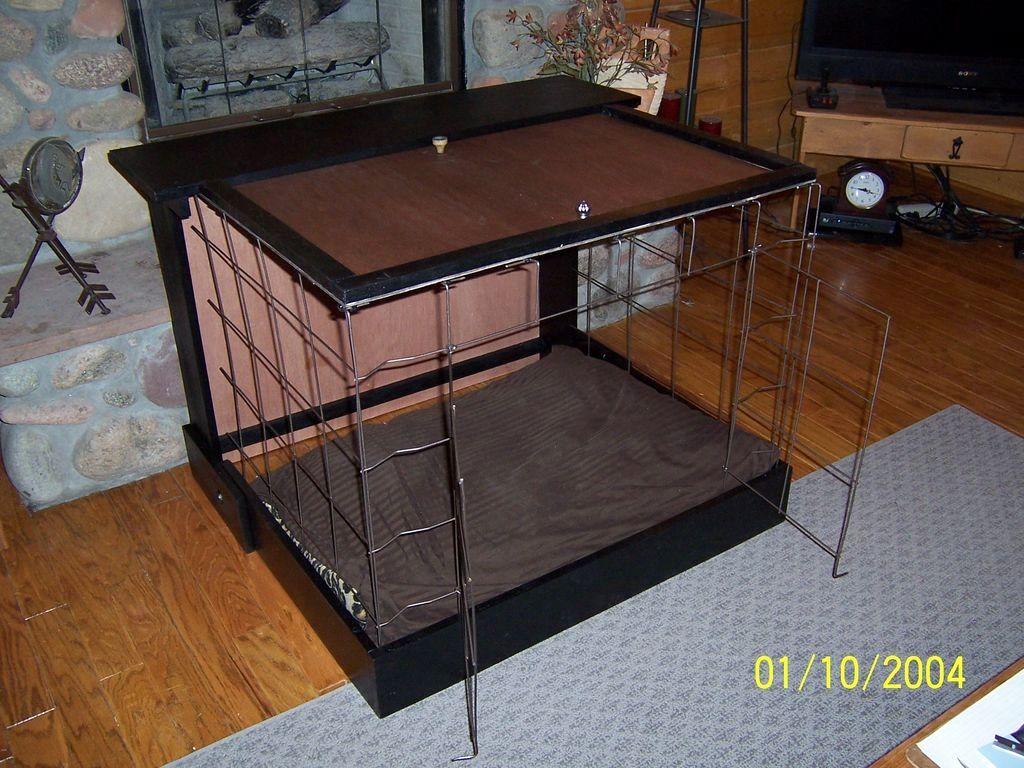 DIY Dog Murphy Bed Kennel