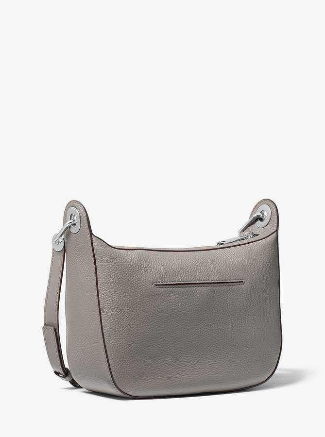 e17e3b5bb6db MICHAEL Michael Kors Barlow Medium Pebbled Leather Messenger ...