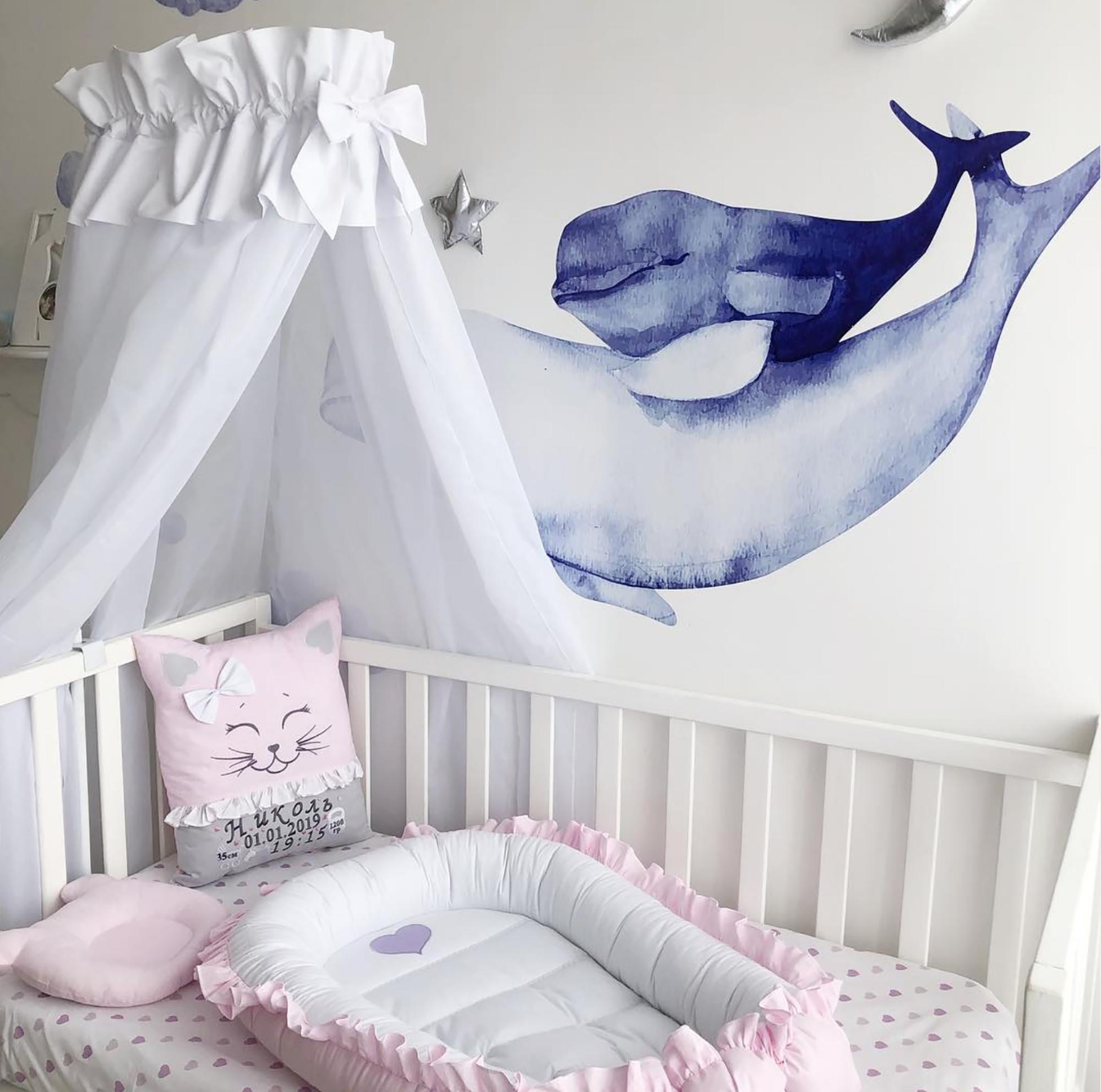 Nursery Canopy Bed Canopy Baldachin Canopy Tent Crib Canopy
