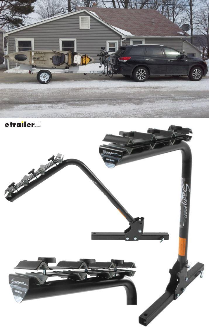 Swagman Original 4 Bike Towing Rack For 2 Trailer Hitches