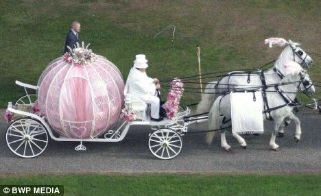 Cinderella Horse Drawn Carriage Wedding Transport For The Bride Cute Pinterest And Weddings