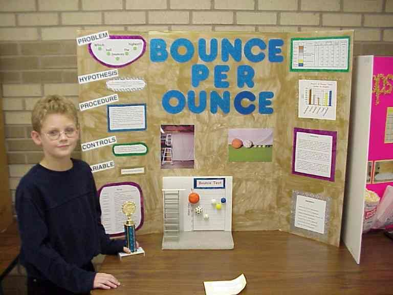 Third grade science project