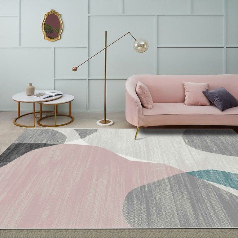 New Contemporary Grey Rugs For Living Room Warmly Home Living Room Carpet Abstract Rug Living Room Design Decor