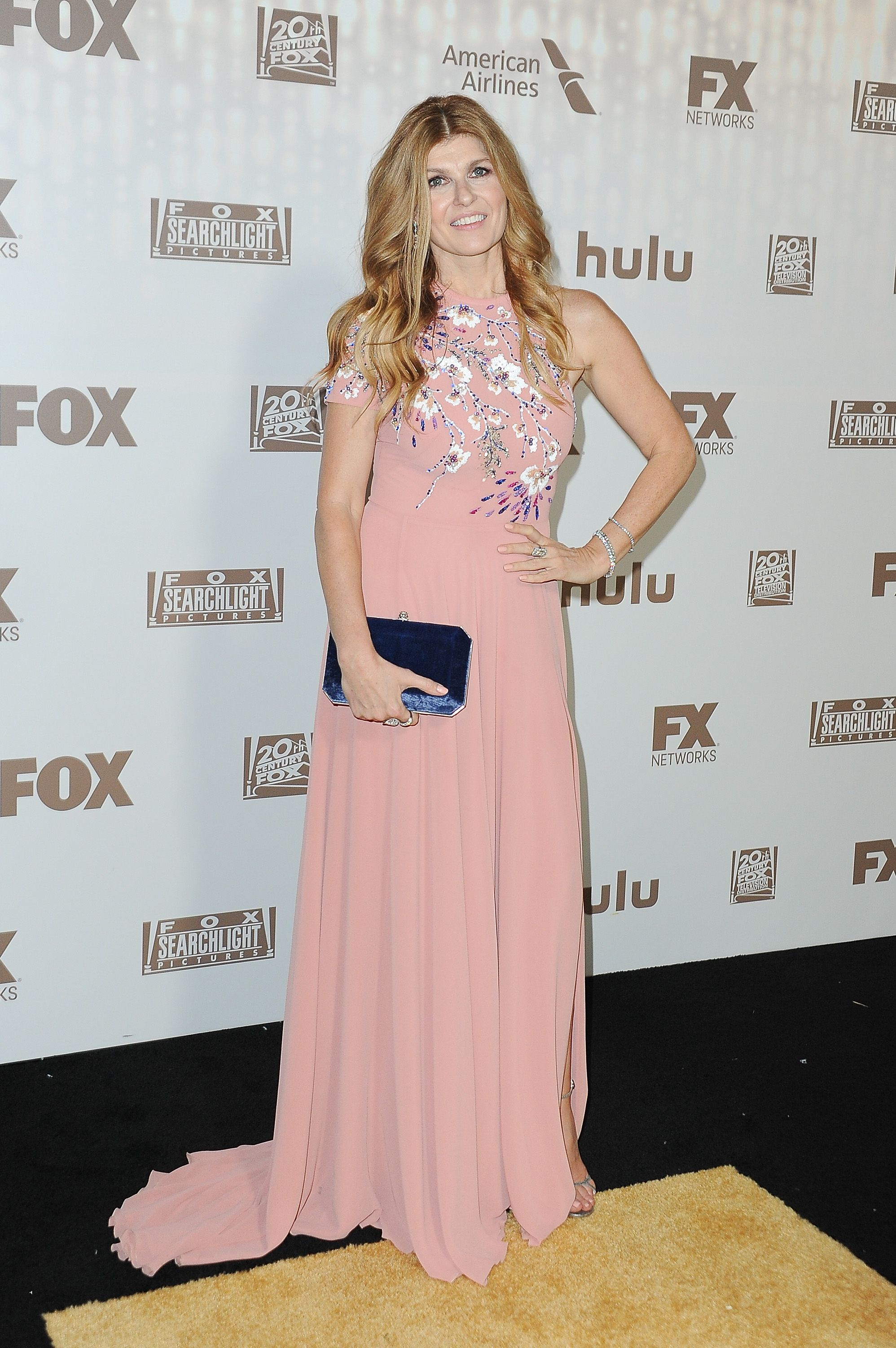 Connie Britton - At Fox and Hulu's Golden Globe After Party.