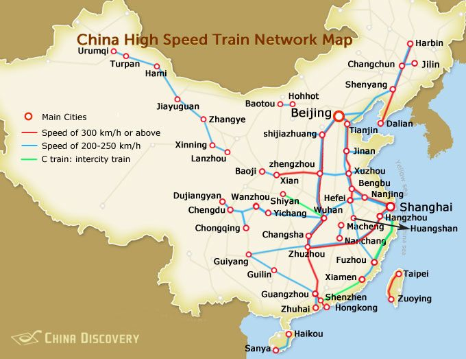 China high speed railway map favorite places spaces pinterest china high speed railway map gumiabroncs Image collections