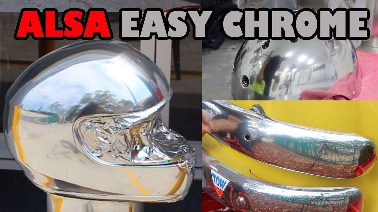 Easy chrome brush or spray on chrome chrome spray paint