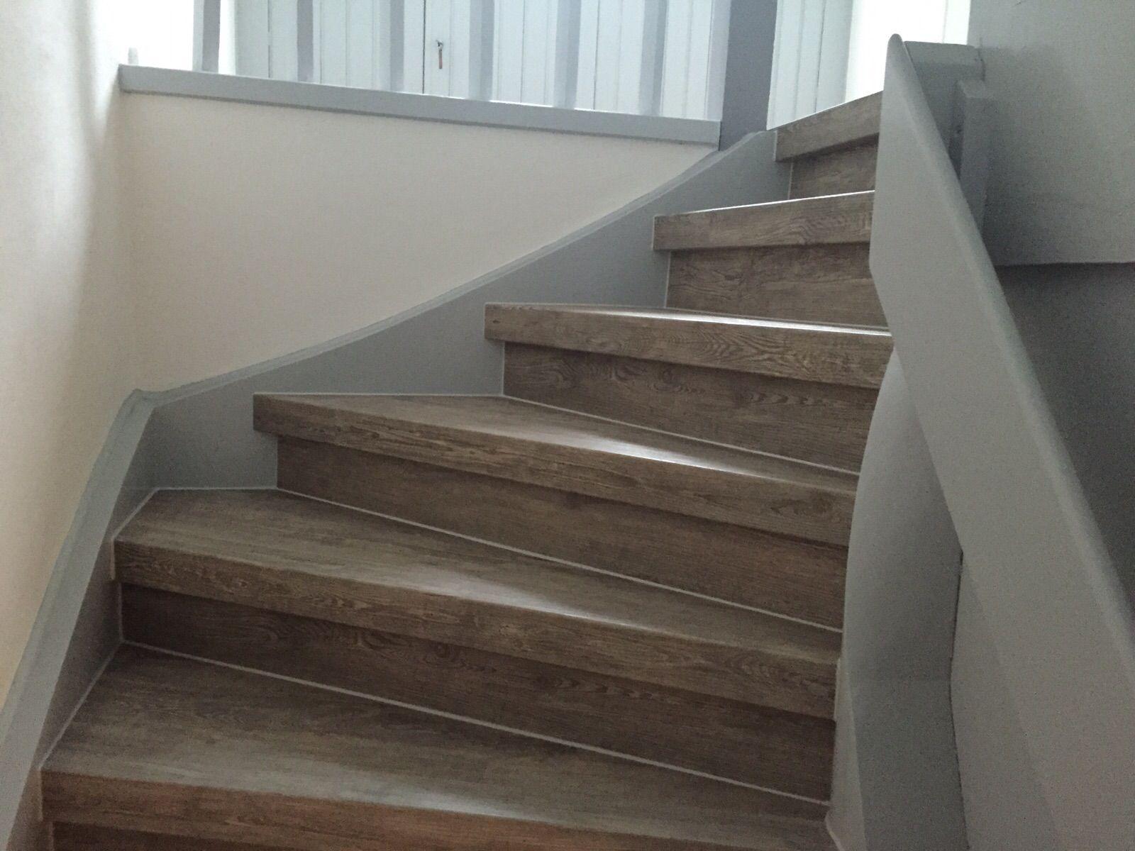 treppe #eiche #bodenbeschichtung #D&W #holz #renovierung #leisten ...