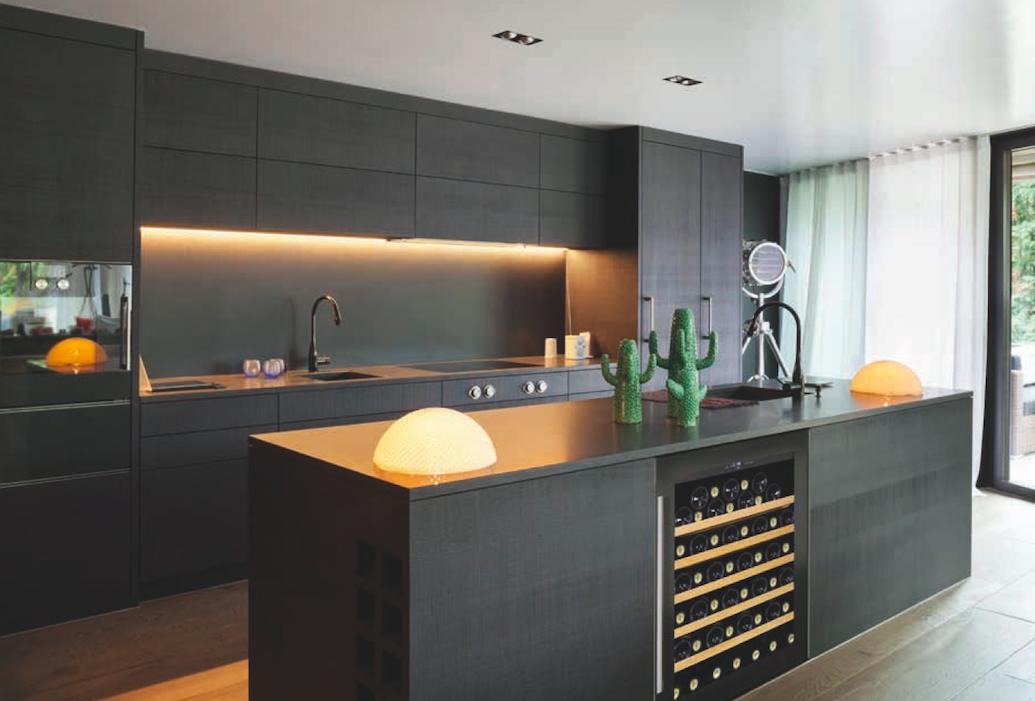 pingl par karine dunavox france sur cave vin cuisine cuisine moderne maison et cuisine. Black Bedroom Furniture Sets. Home Design Ideas