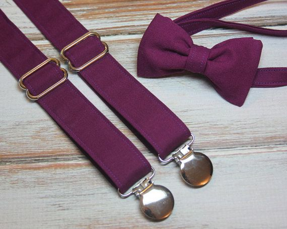 bb55de82f1d8 ... Purple ( Men, boys, baby, toddler, infant Suspender and Bowtie ). 1  Year Warranty! Cotton Kandy will do free repairs on ties, neck ties and  suspenders ...