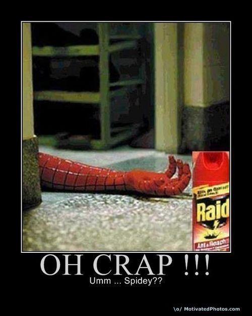 Spidey?!? D: