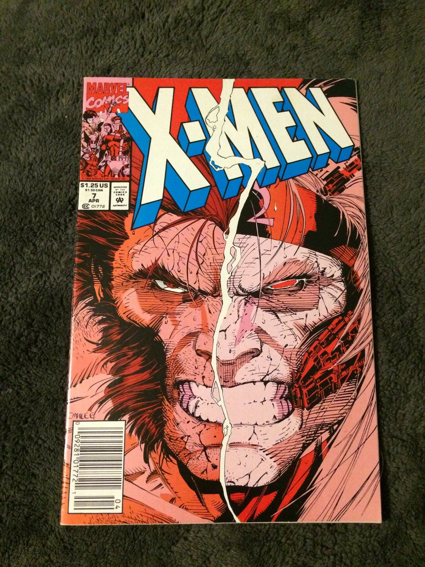 X Men 7 First Print 1992 Marvel Comics Nm First 2020 No Reserve Penny Auction Is In Full Swing With Hipcomic Check Out What We In 2020 Marvel Comics Comics Marvel