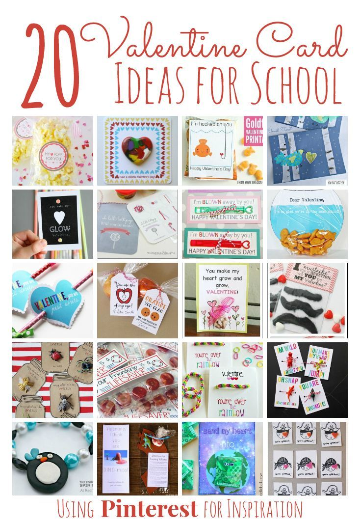 20 Valentines Day Card Ideas for School inspired by Pinterest – Creative Valentine Cards for School
