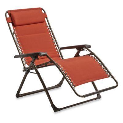 Oversized Padded Relaxer In Terracotta Bedbathandbeyond