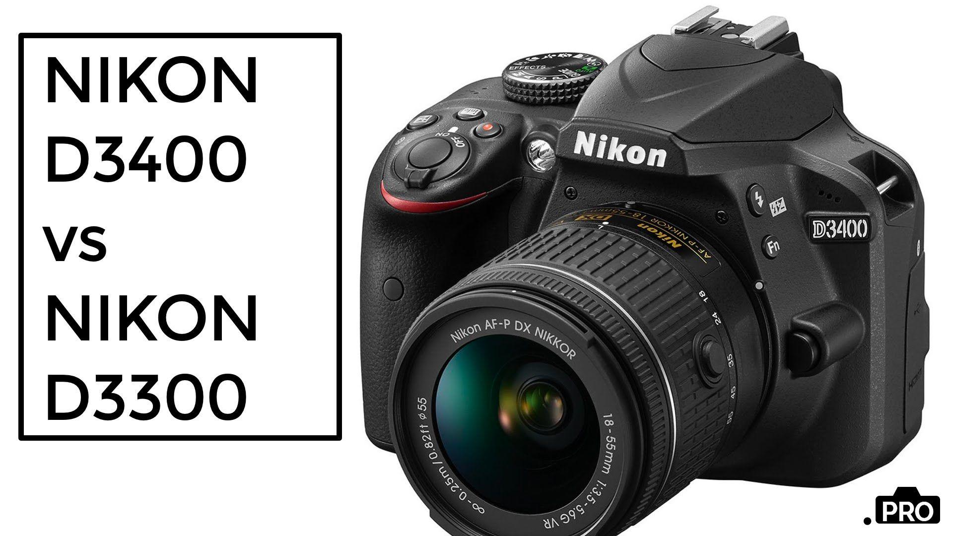 Medium Of D3300 Vs D3400