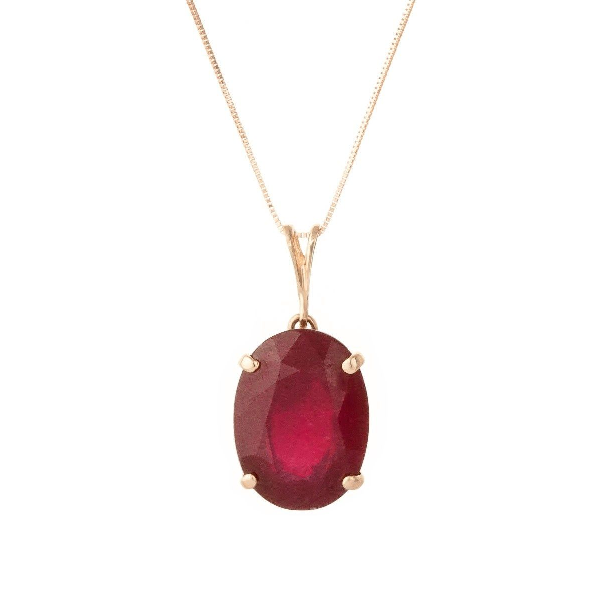 Genuine Ruby Jewelry Gifts for Her Natural Ruby Diamond Pendant Sterling Silver Pendant Pave Diamond Pendant Gemstone Pendant