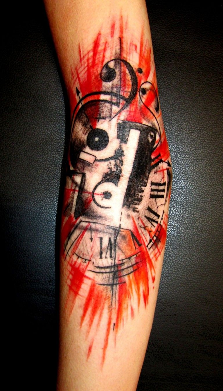 80 crazy and amazing tattoo designs for men and women desiznworld - 50 Best Music Tattoo Designs And Ideas Tattoos Era