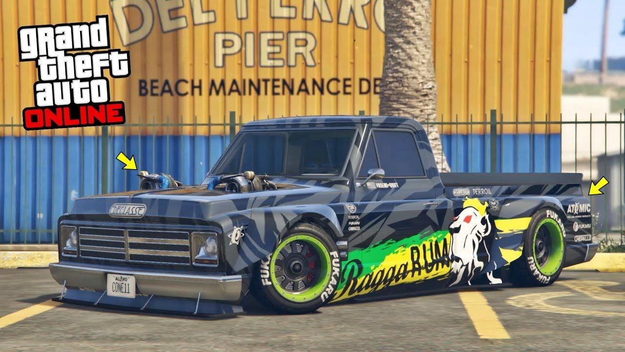 GTA 5 Online HIDDEN UNRELEASED CAR DECLASSE DRIFT