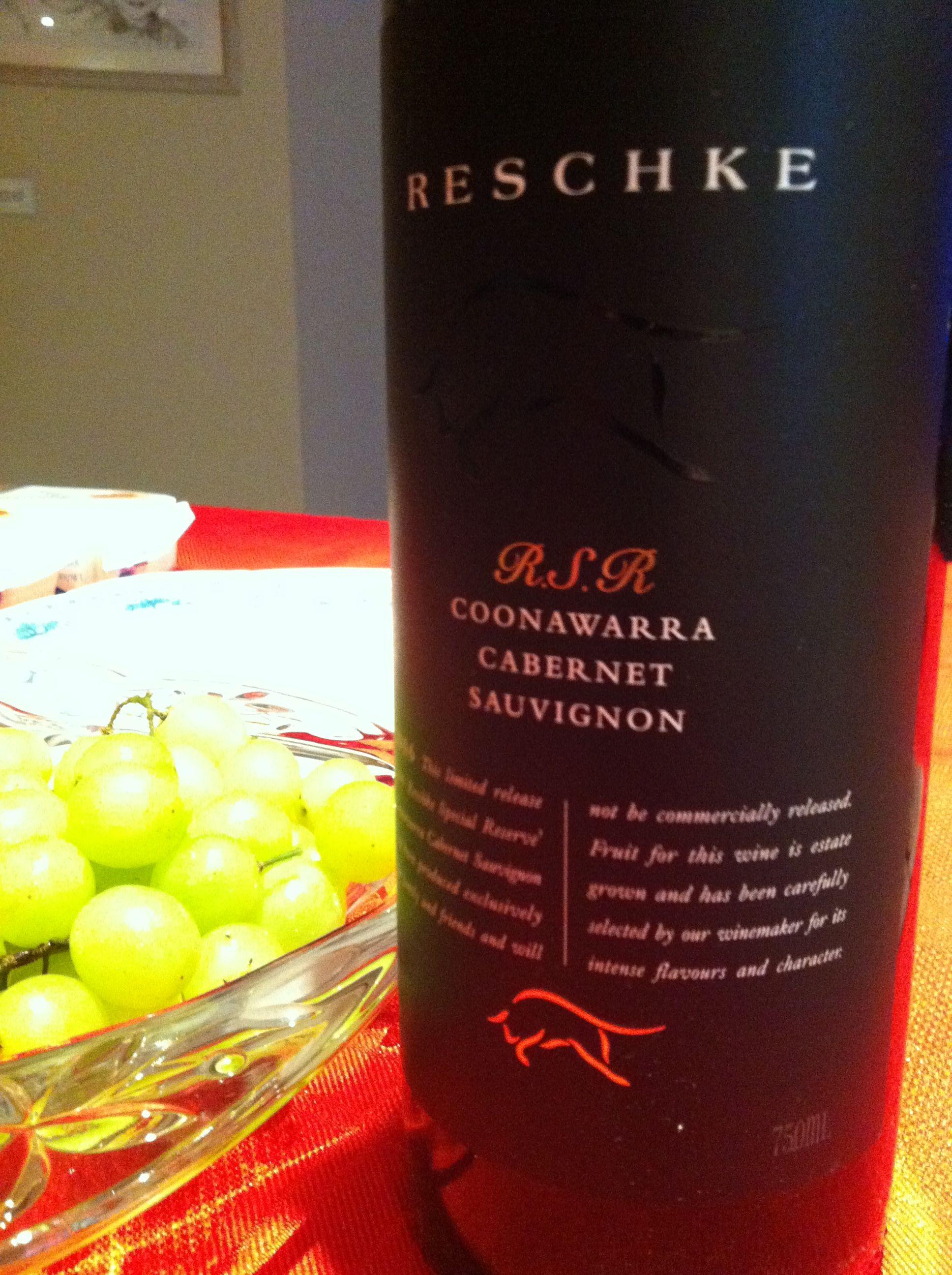 2006 Reschke Coonawarra Cabernet Sauvignon Rsr It S Christmas So Spoil Yourselves It S A Special Reserve Delicious Cabernet Sauvignon Winemaking Sauvignon