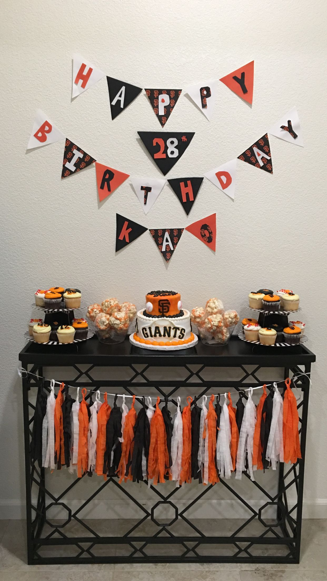 Sf Giants Party Theme 50th Birthday Themes 90th Parties 5th Ideas