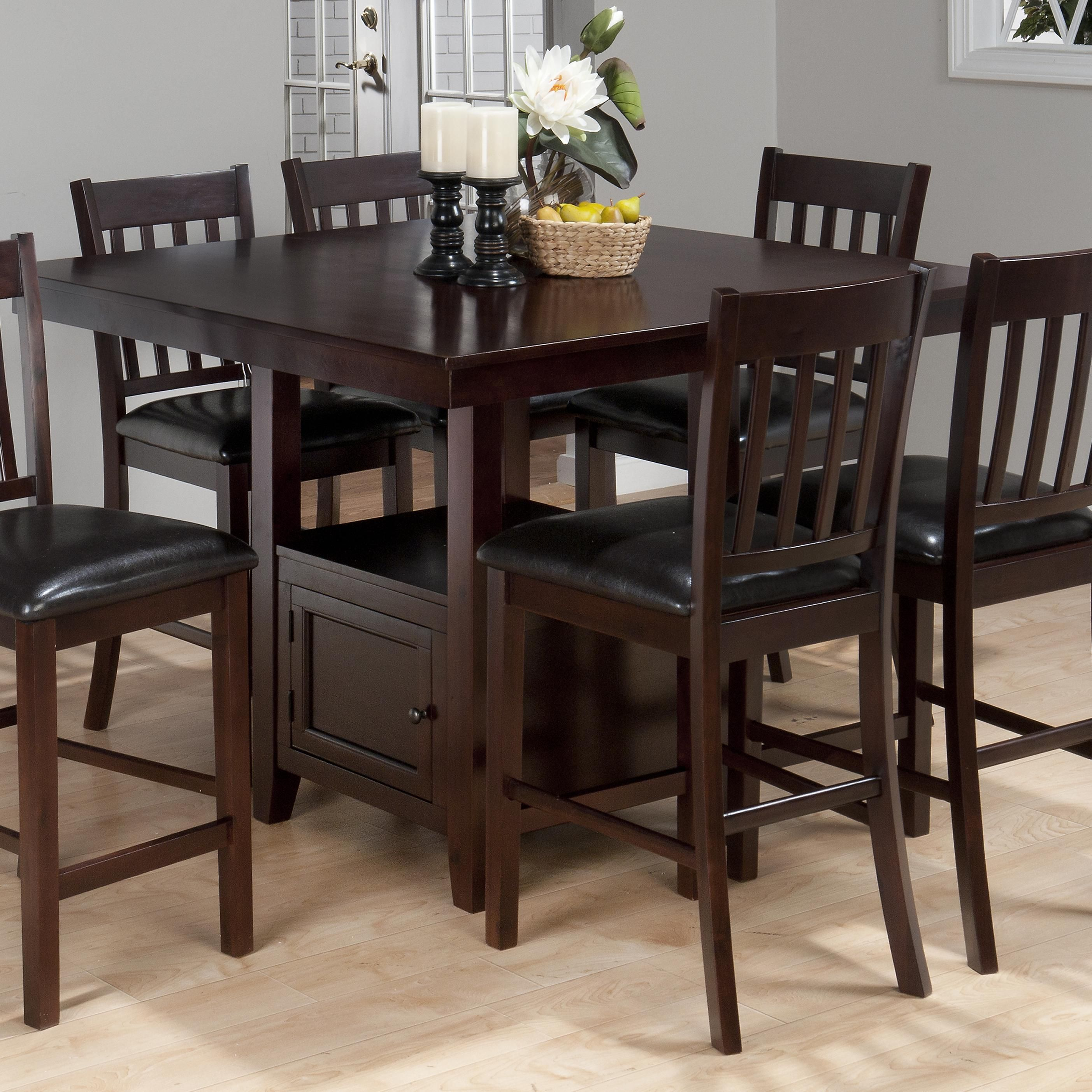 tessa chianti counter height table by jofran dining room