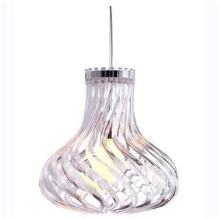 Check out the Zuo 5014 Tsunami 1 Light Ceiling Pendant