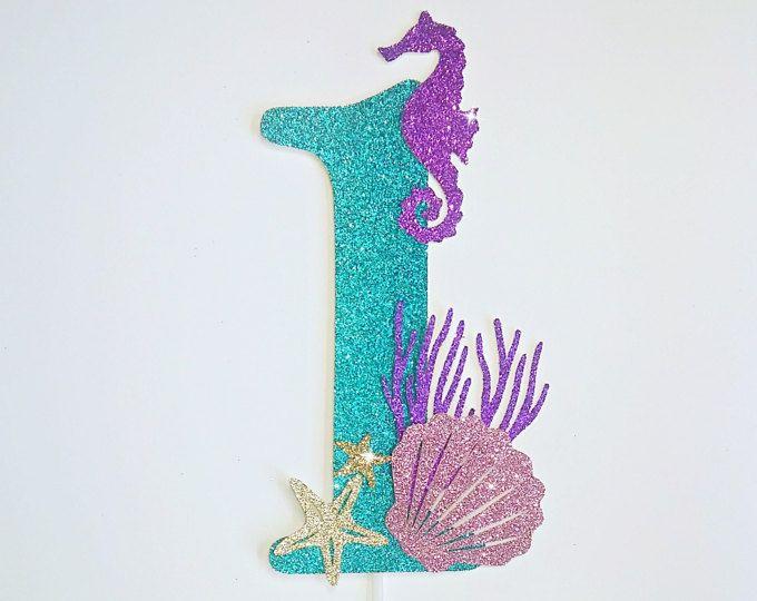 Torta De Sirena Debajo De La Torta De Mar Decoración De