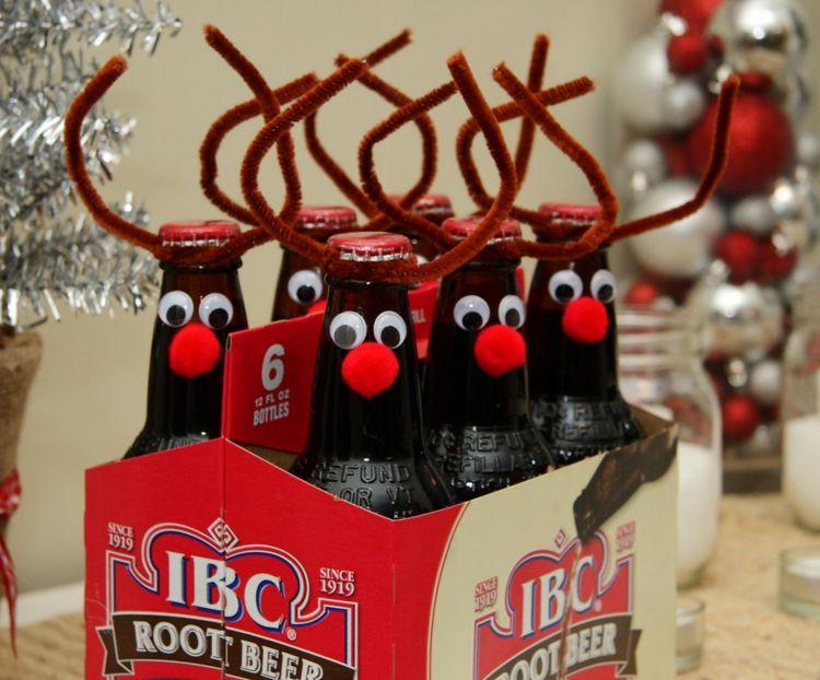 Kreative Weihnachtsgeschenke Selber Machen basteln sie interessante dekorationen zum verzieren der geschenke