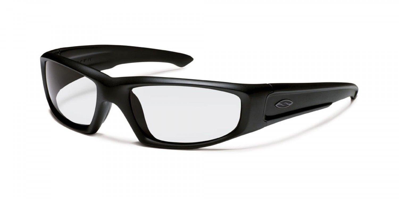 7336b4c6e2b Smith Hudson Elite - Black - Three-Four View Eyeglasses