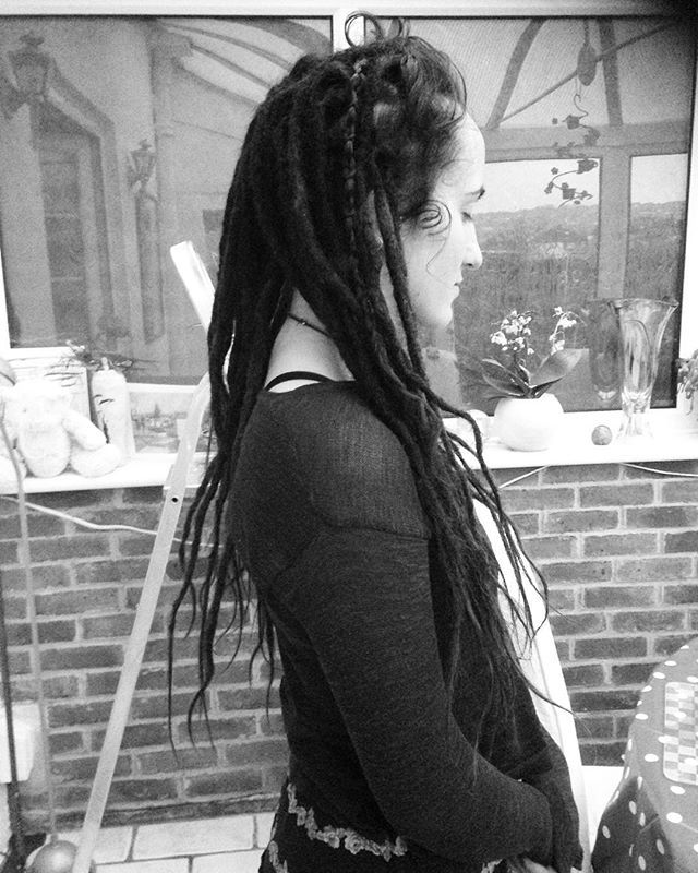 Jessamines Dread Extensions Brown Dreads Dread Extensions