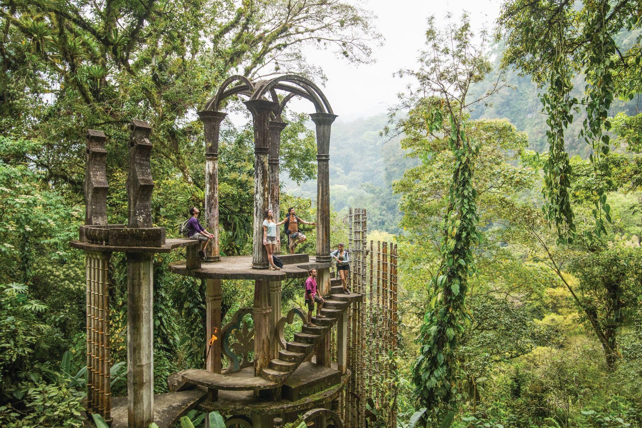 Selva Seca En Las Pozas De Xilitla San Luis Potos Travels  # Muebles Zurich San Luis Potosi