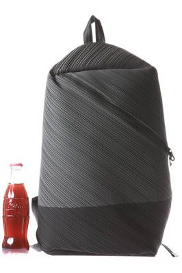 17b59d823f bias pleats backpack - PLEATS PLEASE Issey Miyake. Oh how I would love to  have this  -)