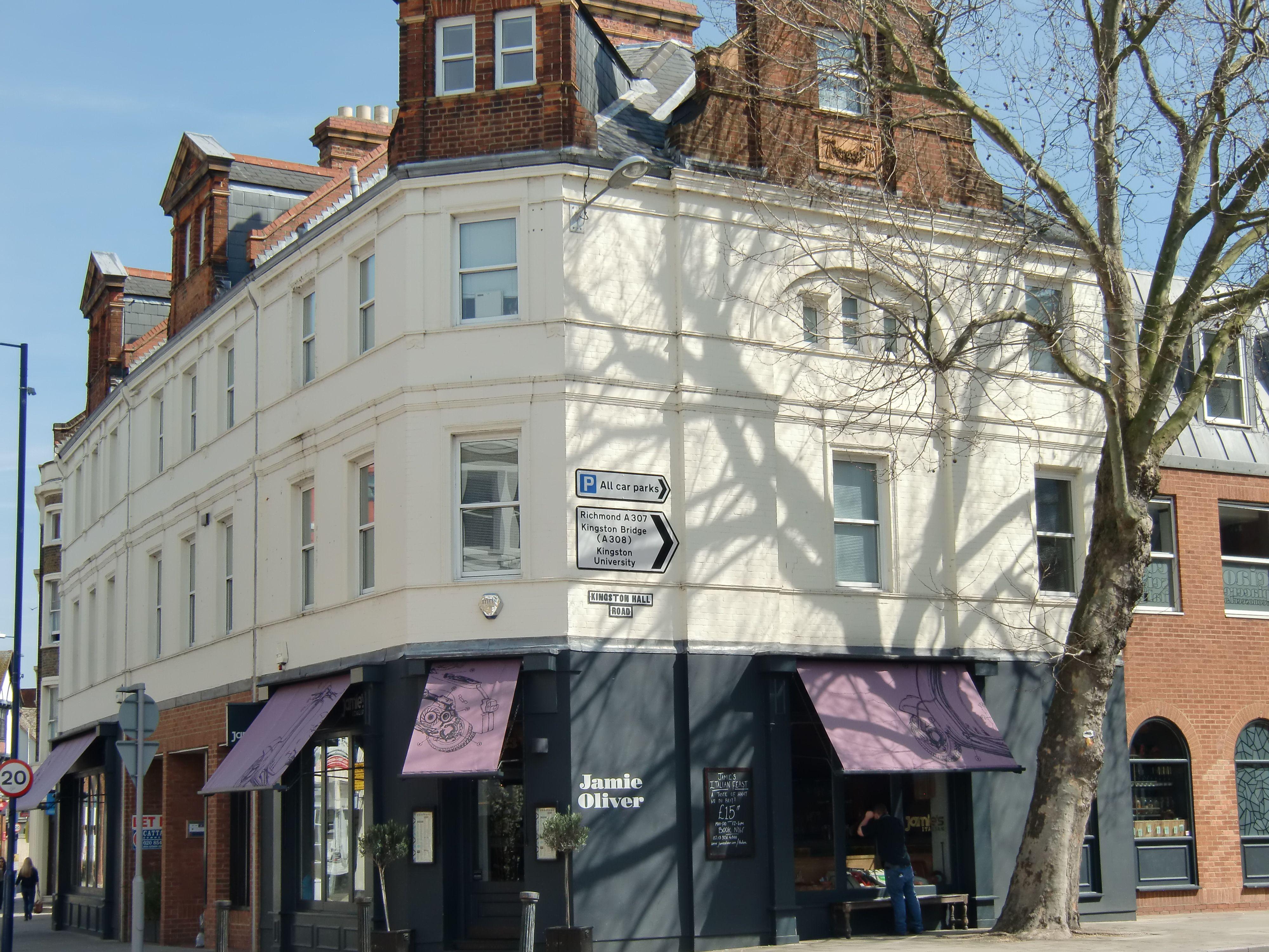 Jamie Oliver S Restaurant Kingston Upon Thames Travel Kingston