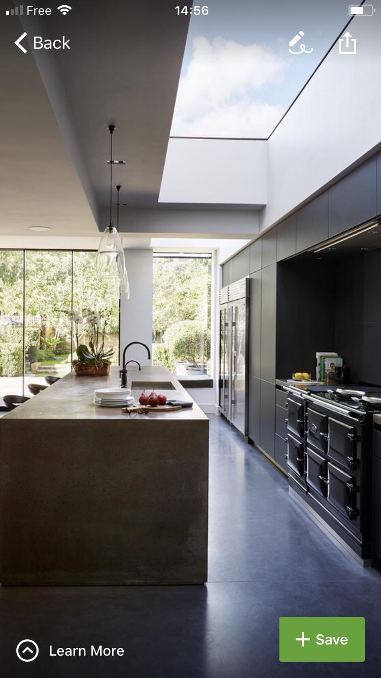 Ideen für die erweiterung der küche pin von claudi auf haus  pinterest  haus theken und architektur