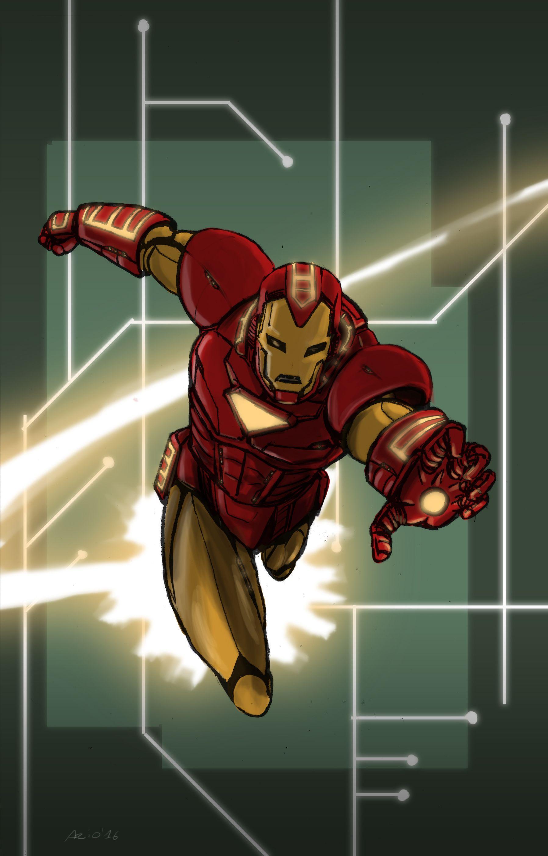 iron man heros reborn armor