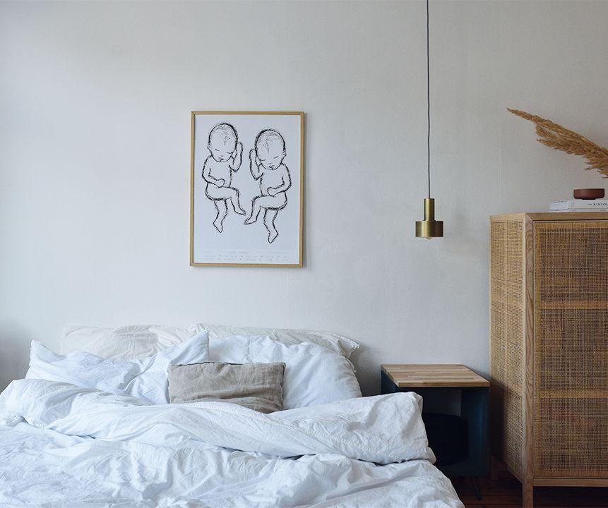 Geschwisterposter Scandinavian Mit Bildern Haus Deko