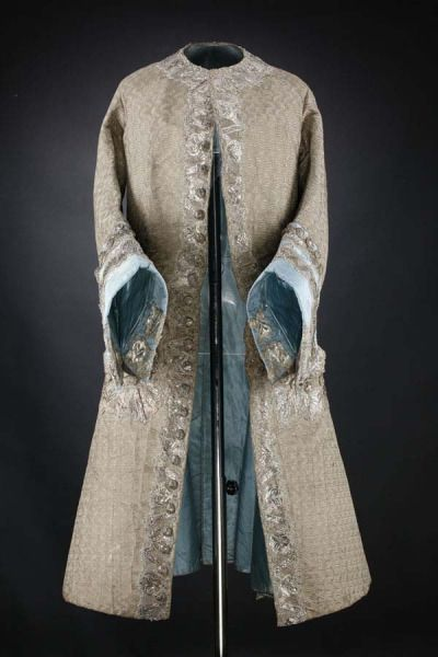 Coat, 1740′s From National Museums Scotland