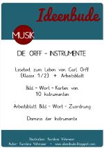 Material Zum Leben Von Carl Orff Und Den Orffinstrumenten