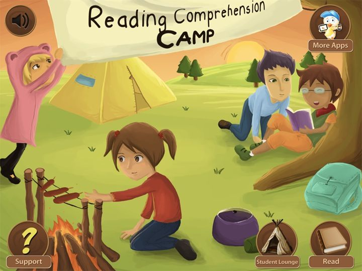 Reading Comprehension Camp App Review Reading