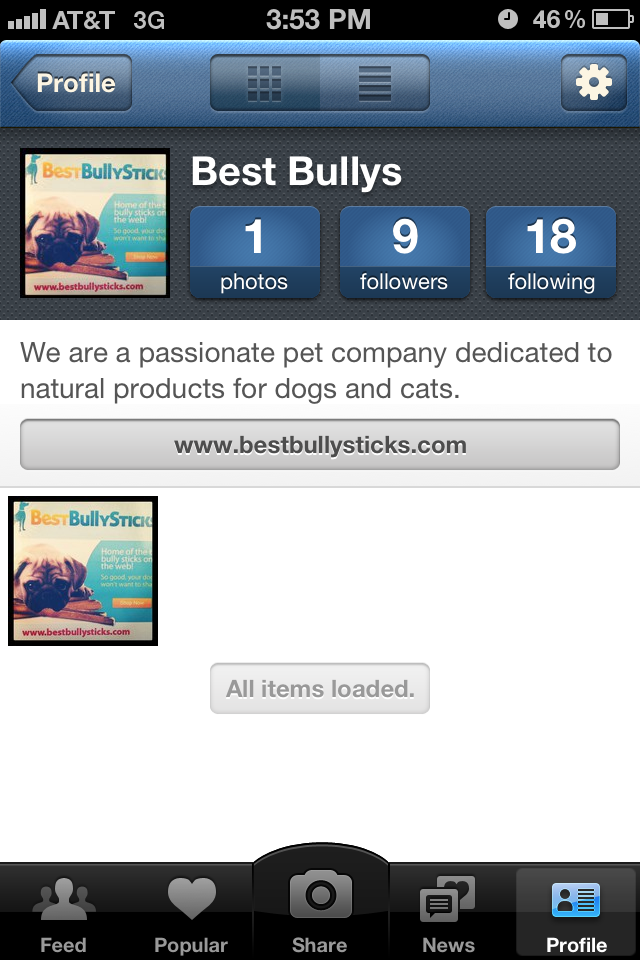 We now have an Instagram: Follow, Send Us Photos and Win Prizes!!!!