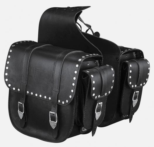 Ledrie fortsetter prod av saddlebags