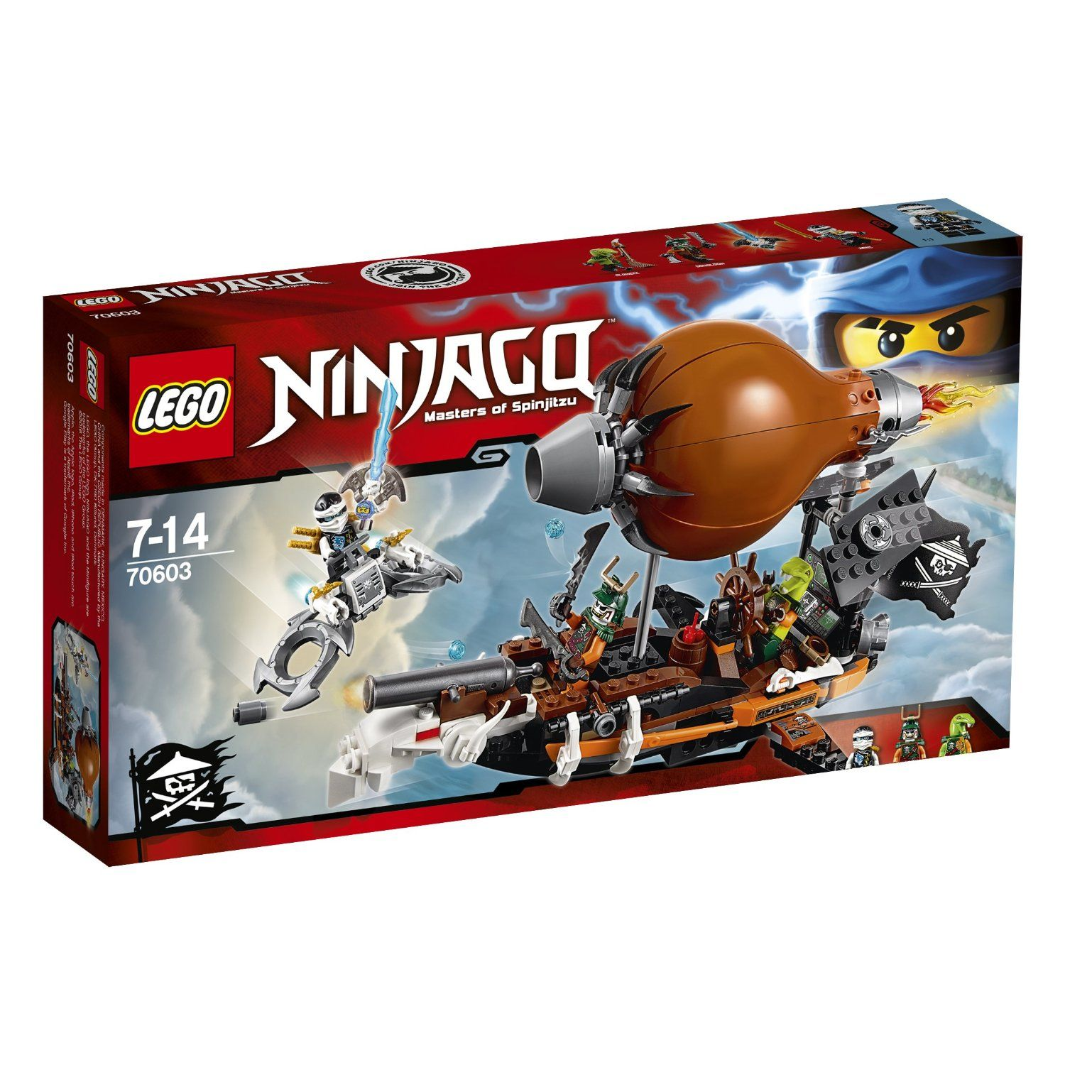 Amazon france has just published the first set of official - France 3 ninjago ...