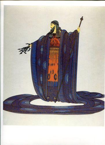 Erte-Art-Deco-10X13-Graphics-199-Zeus